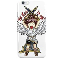 Pit- THE FIGHT IS ON! iPhone Case/Skin