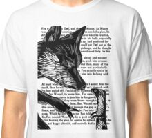 The Dark Wood 'Fox and Weasel' Illustration Classic T-Shirt