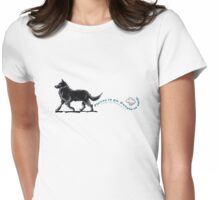 Belgian Sheepdog Places to Go Womens Fitted T-Shirt
