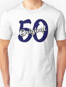 Original 50 - Dark Blue/White T-Shirt