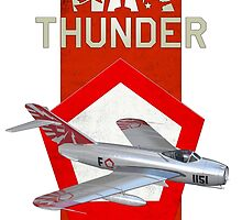 MiG-17 Indonesian Air Force Aerobatics by graphictor