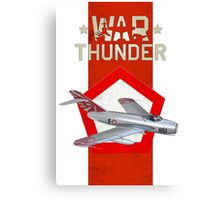 MiG-17 Indonesian Air Force Aerobatics Canvas Print