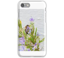 Bee and rosemary iPhone Case/Skin