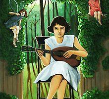 The Secret Garden by LindaAppleArt