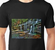 Somersby Falls side creek, Central Coast, New South Wales Unisex T-Shirt