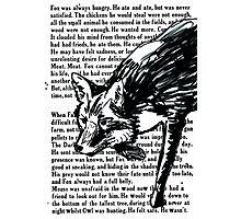 The Dark Wood 'Stalking Fox' Design Photographic Print