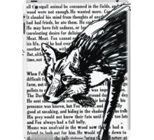 The Dark Wood 'Stalking Fox' Design iPad Case/Skin