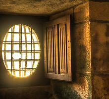 The little window in the castle... by jean-jean