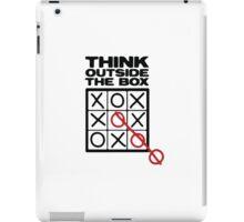 Think outside the box  iPad Case/Skin