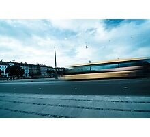 A bus in Copenhagen Photographic Print