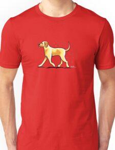 Yellow Lab Hairy Wake Unisex T-Shirt