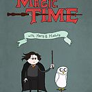 Magic Time with Harry &amp; Hedwig by eraygakci