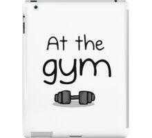 Gym iPad Case/Skin