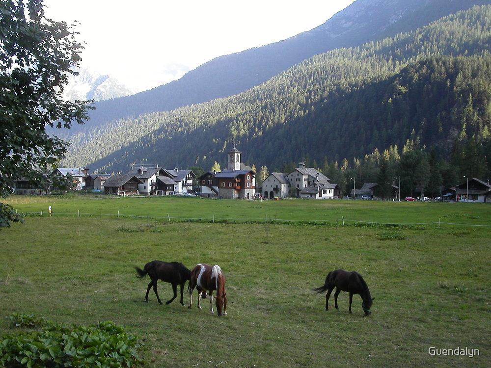 al pascolo... Monte Rosa 1800 metri - Piemonte - Italia - Europa--1500 visualizzaz maggio 2013-VETRINA RB EXPLORE 14 SETTEMBRE 2012 --- by Guendalyn