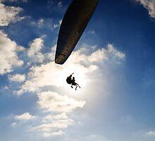 Gliding  by Motti Golan