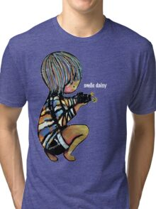 Smile Daisy Photographer Tri-blend T-Shirt