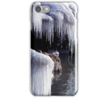 Icicles on Shore iPhone Case/Skin