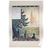 Souscrivez au IVéme Emprunt et le drapeau tricolore á Strasbourg annonçera au monde le règne de la paix de la liberté de la justice Poster