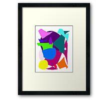 Heavy Colors Thirst Desert Sand Dry Lively Framed Print