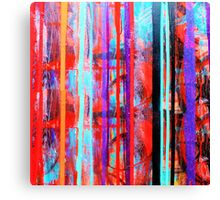 Falling Colors Canvas Print