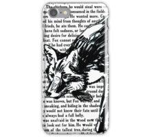 The Dark Wood 'Stalking Fox' Design iPhone Case/Skin