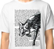 The Dark Wood 'Stalking Fox' Design Classic T-Shirt
