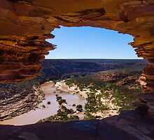 Murchison River through Natures Window by Yukondick