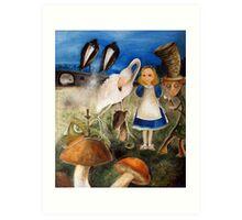 Bird Migration In Wonderland Art Print