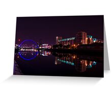 Clyde Arc, River Clyde, Glasgow Greeting Card
