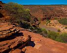 Kalbarri Gorges  by Yukondick