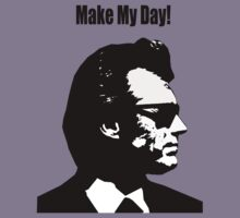 Clint Eastwood Dirty Harry Make My Day by bassdmk