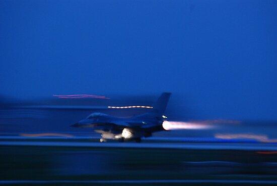 F-16 by Vonnie Murfin
