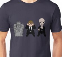 Three Wise Monsters Unisex T-Shirt
