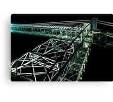 Newport Transporter Bridge Canvas Print