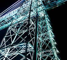 Newport Transporter Bridge by Tim Topping