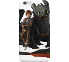 hi cup and toothless iPhone Case/Skin