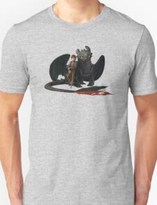 hi cup and toothless Unisex T-Shirt