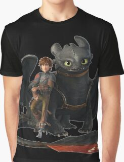 hi cup and toothless Graphic T-Shirt