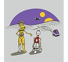 Not the Droids You're Looking For Photographic Print