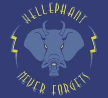 Hellephant - Impale Blue on Blue by Koobooki