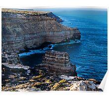 Rock Island and the Kalbarri Coast Poster