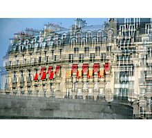 Parisian Mosaic - Piece 29 - French Building Facade  Photographic Print