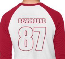 Jersey Red Men's Baseball ¾ T-Shirt