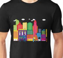 Business day in the city Unisex T-Shirt