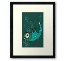 Otter Melodies Framed Print