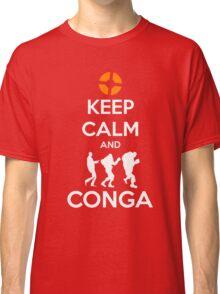 Keep Calm and CONGA Classic T-Shirt