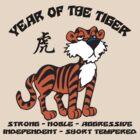 Cute Chinese Year of Tiger T-Shirt by HolidayT-Shirts