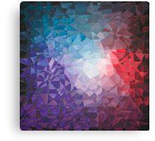 Winter Berry Fragments - acrylic smash Canvas Print