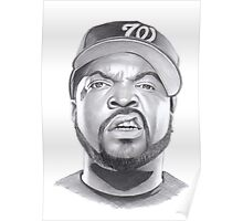 ice cube drawing Poster