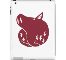The Seven Deadly Sins - The Boar Sin of Gluttony (Red) iPad Case/Skin
